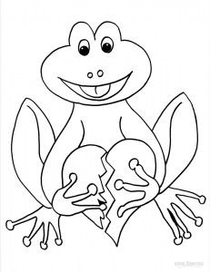 Toad Coloring Pages To Print