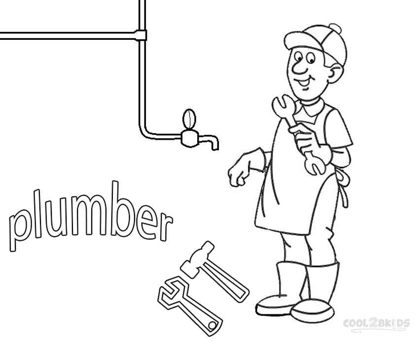 coloring pages community helper - photo#24