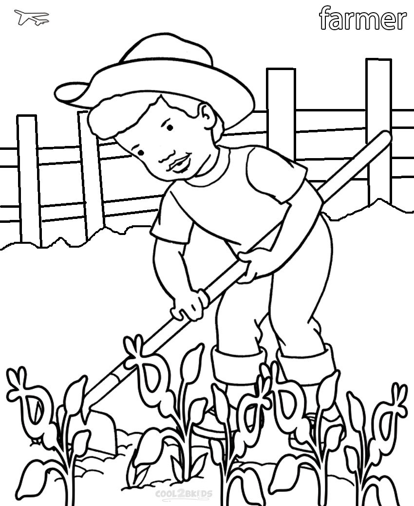Printable Community Helper Coloring