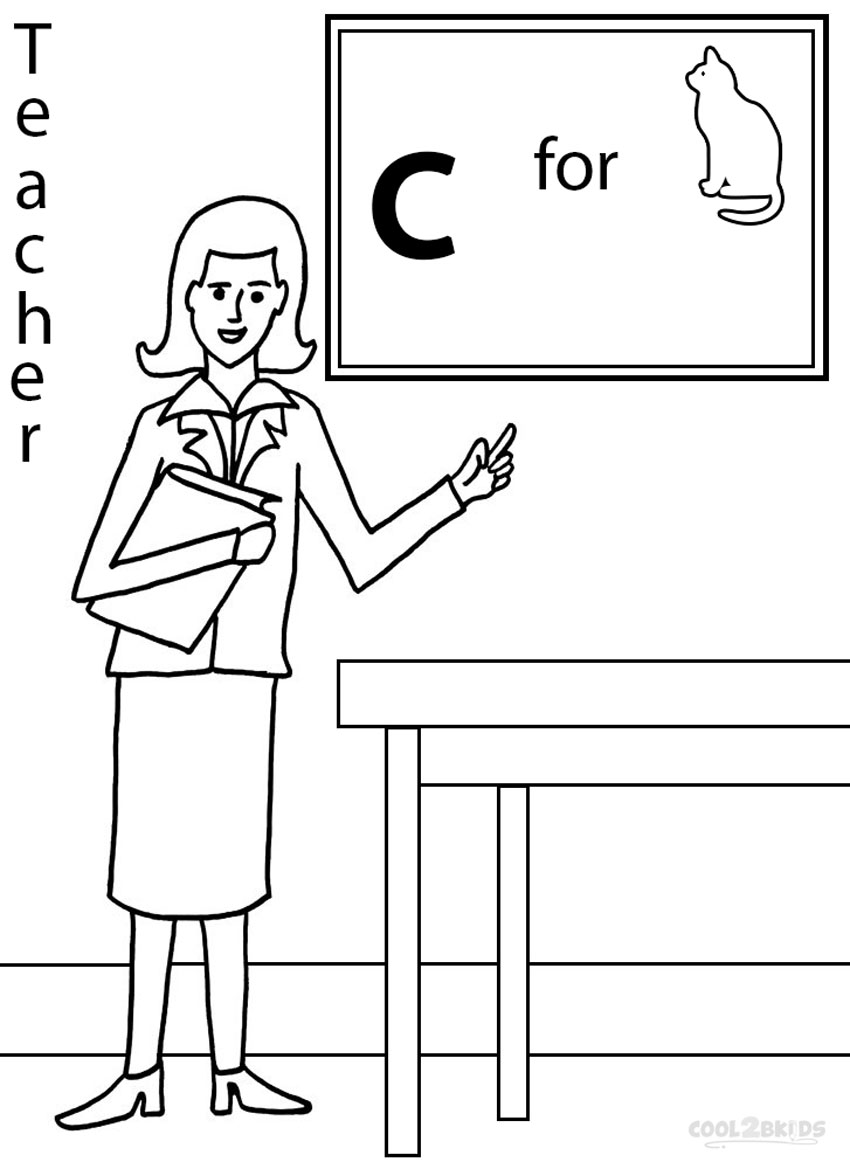 coloring pages community helper - photo#13
