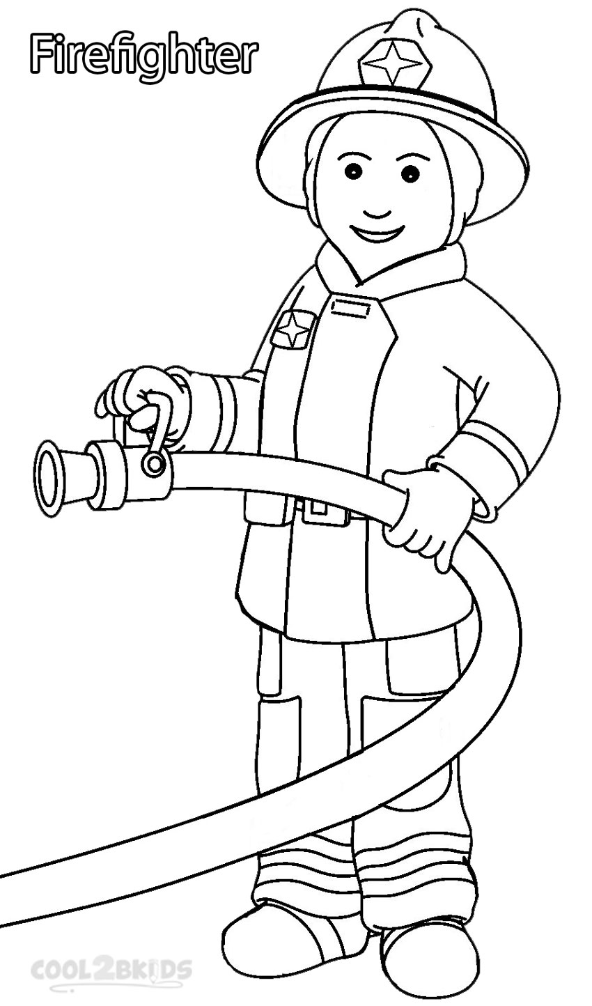 Resource image for memory community helpers free to printable coloring pages