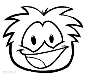 Free Printable Puffle Coloring Pages
