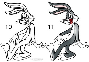How To Draw Bugs Bunny Step 5