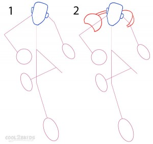 How To Draw Iron Man Step 1
