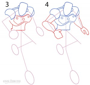 How To Draw Iron Man Step 2
