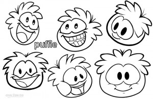 Puffle Coloring Pages Pictures