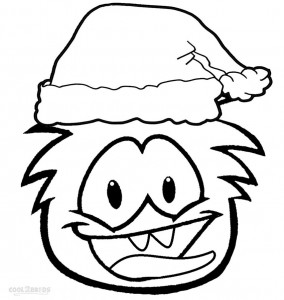 Puffle Coloring Pages Printable