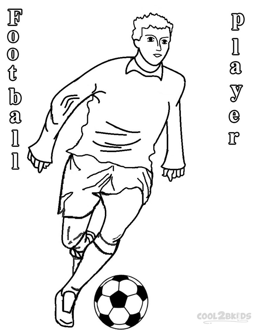 coloring pages for soccer - photo#22