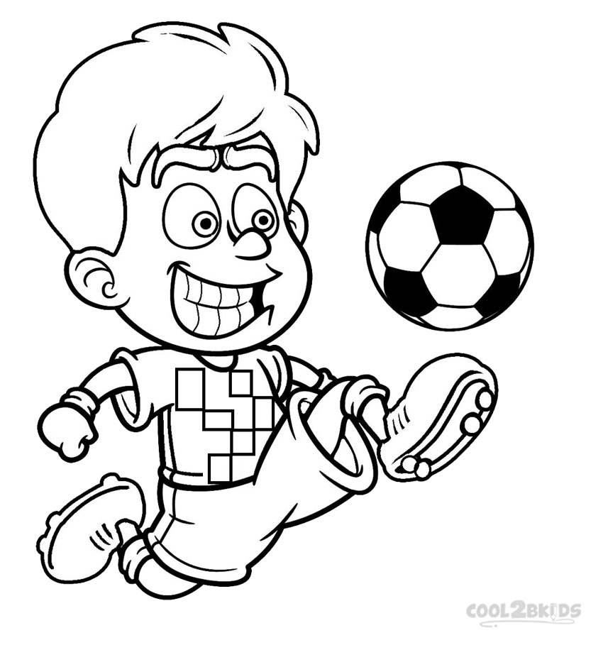 photo about Printable Football Pictures identify Printable Soccer Participant Coloring Internet pages For Youngsters Amazing2bKids