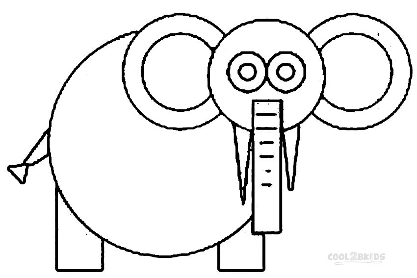 Printable Shapes Coloring Pages For Kids | Cool2bKids