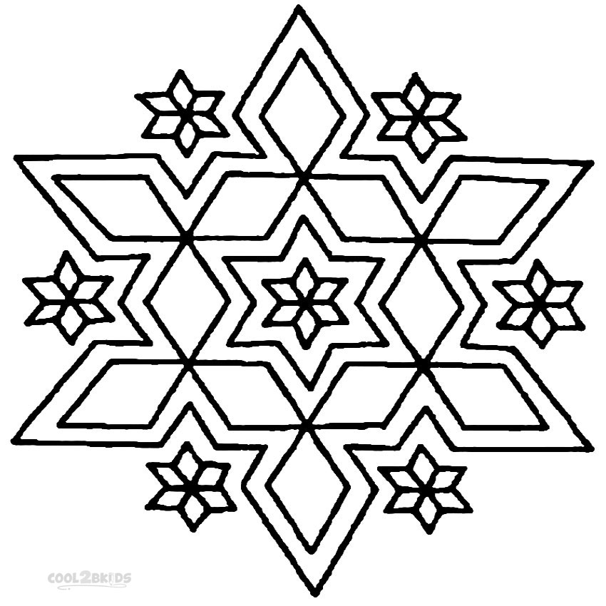 Coloring Pages To Print Designs : Printable rangoli coloring pages for kids cool bkids