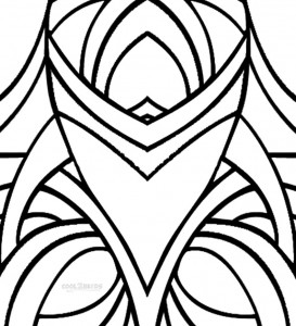 Shapes Coloring Pages to Print