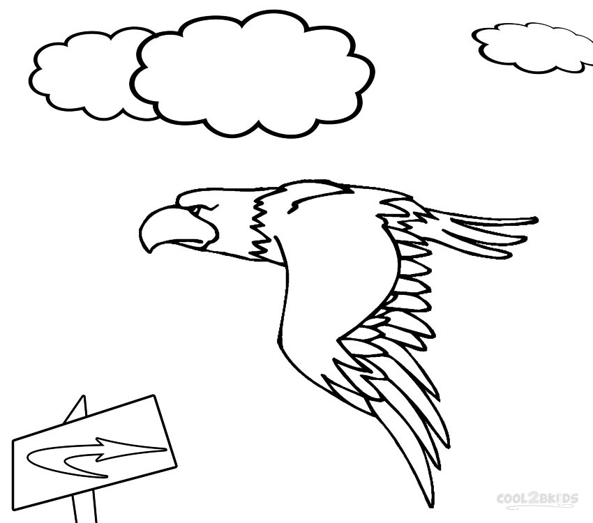 eagle coloring pages for kids - photo #14