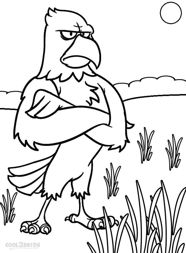 - Printable Bald Eagle Coloring Pages For Kids