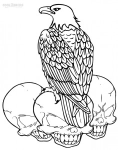 Bald Eagle Coloring Sheets
