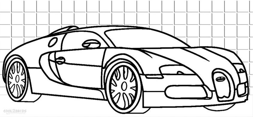 bugatti coloring pages print - Colouring Pages To Print