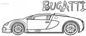 Bugatti Coloring Pages to Print