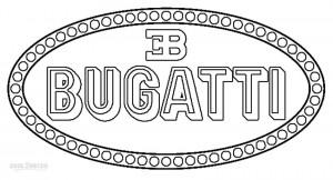 Bugatti Logo Coloring Pages