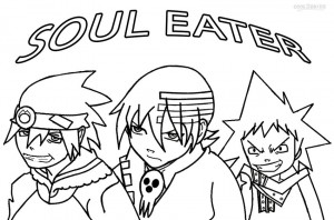 Free Soul Eater Coloring Pages