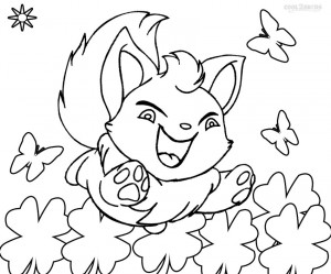 Neopets Coloring Page