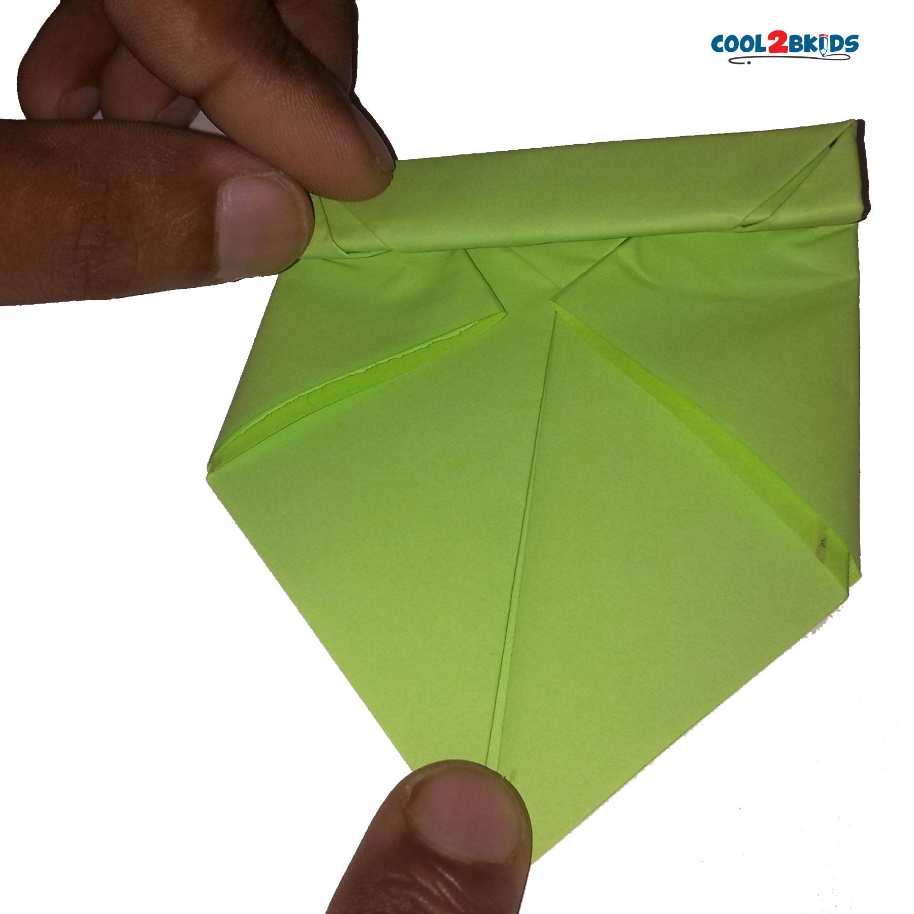 How to make an origami frog in 17 easy steps cool2bkids origami paper frog 11 jeuxipadfo Images