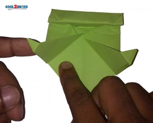 Origami Paper Frog 15