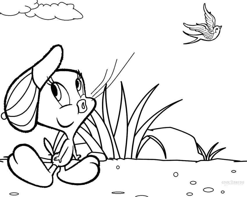 - Printable Tweety Coloring Pages For Kids