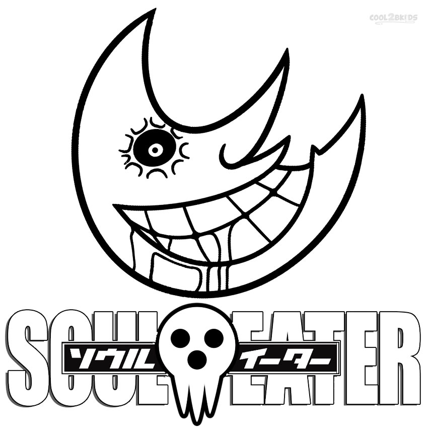 coloring pages of soul eater - photo#4