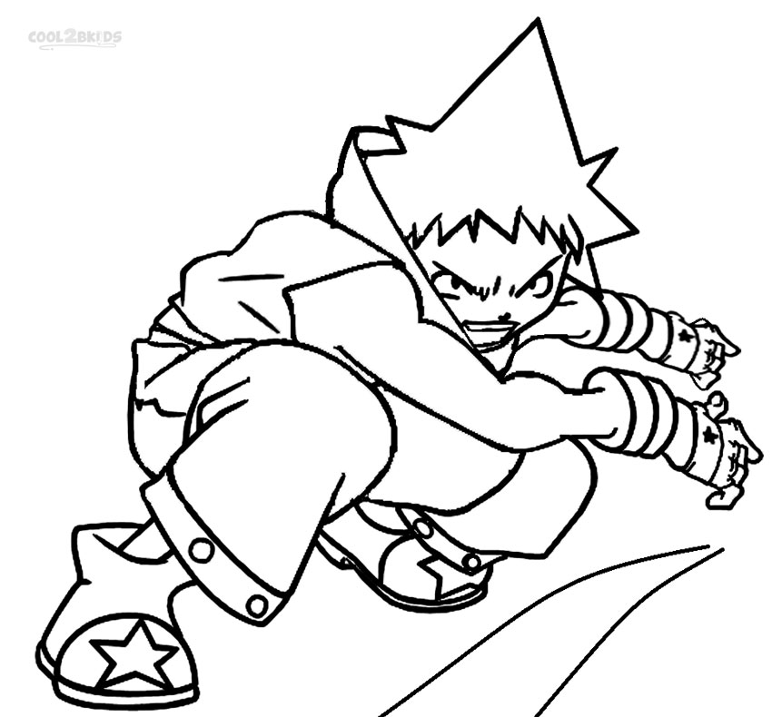 coloring pages of soul eater - photo#15