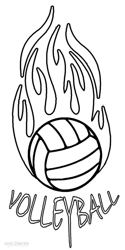 volleyball coloring pages printable - printable volleyball coloring pages for kids cool2bkids