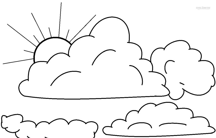 printable sky coloring pages - photo#13