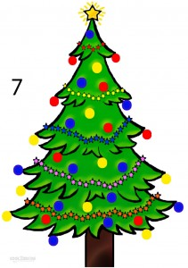 How to Draw a Christmas Tree (Step by Step Pictures) | Cool2bKids
