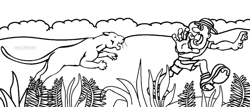 printable coloring pages sports hunting - photo#9