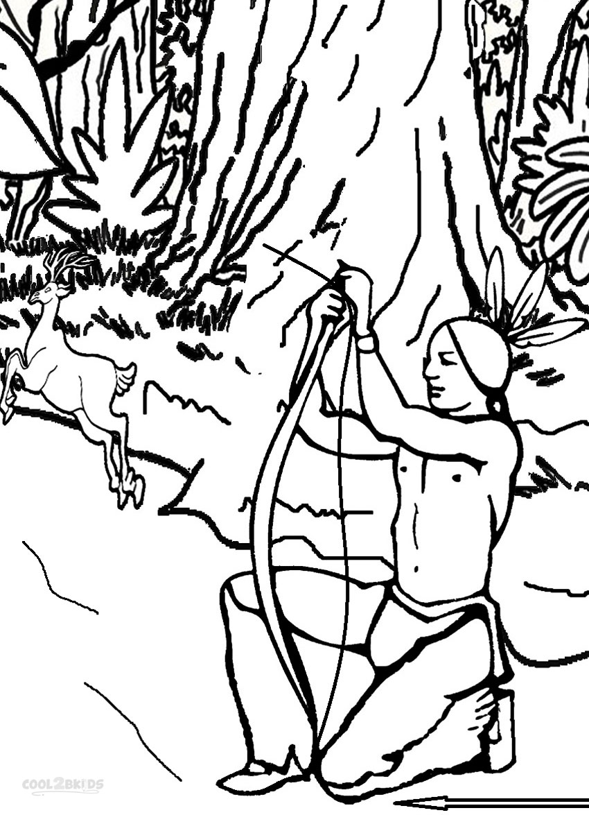 Hunter free colouring pages for Hunter coloring pages