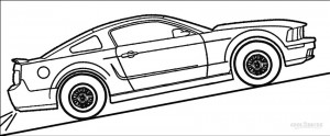 Mustang Coloring Pages to Print