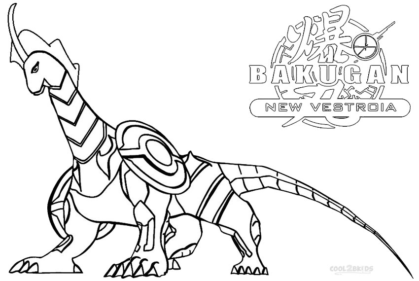 Printable Bakugan Coloring Pages For Kids | Cool2bKids