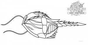 Bakugan Coloring Pages Printable