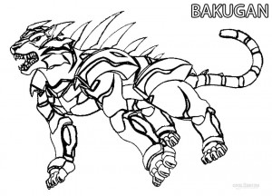Bakugan Coloring Pages to Print