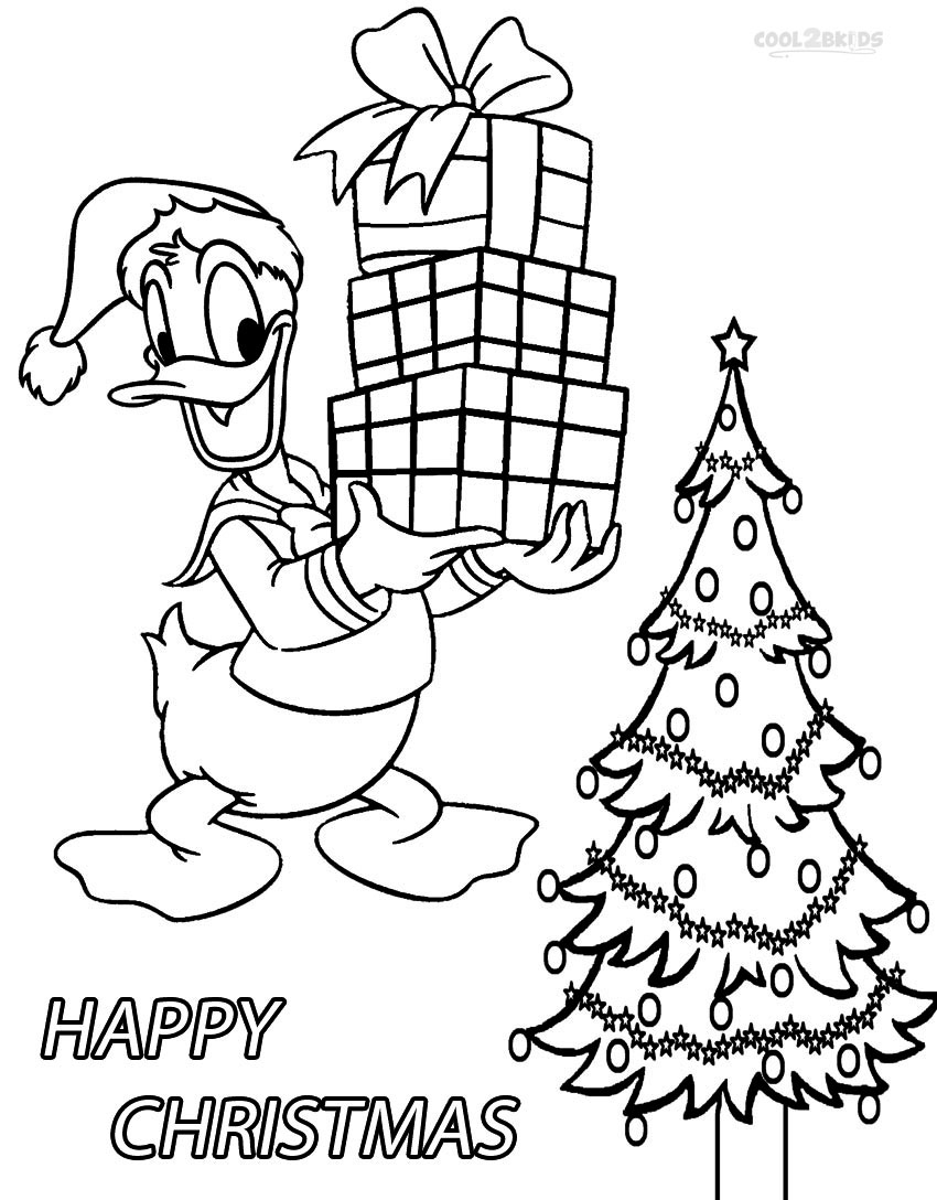 Printable Donald Duck Coloring Pages For Kids