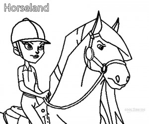 horseland coloring pages zoey and pepper | Printable Horseland Coloring Pages For Kids | Cool2bKids