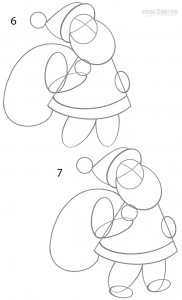 How to Draw Santa Clause Step 3