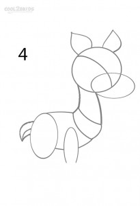 How to Draw a Reindeer Step 4