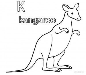 Remarkable image throughout kangaroo printable