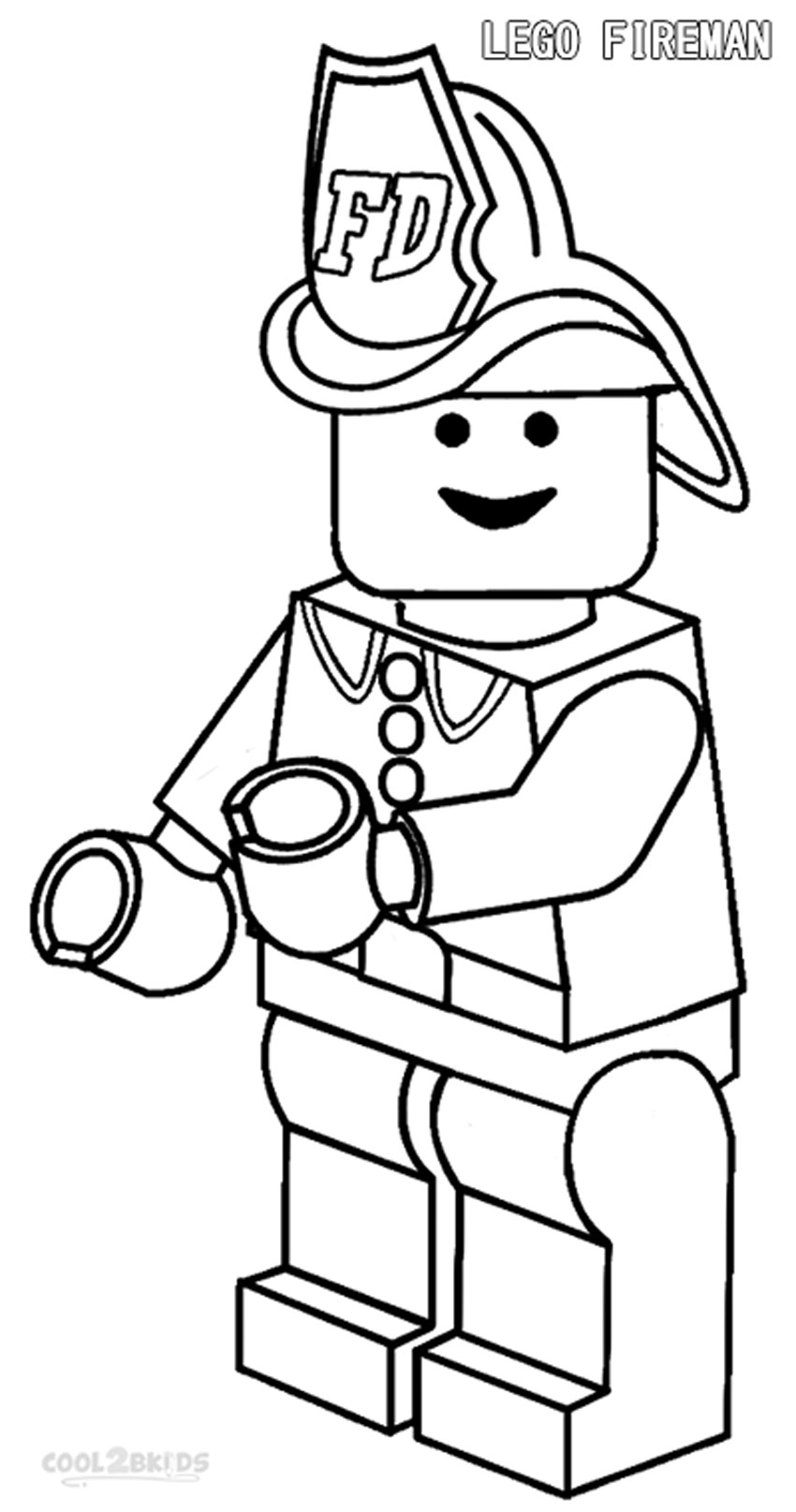 Lego Character Coloring Pages - Coloring Home |Lego Man Coloring Page