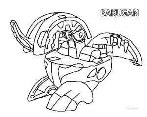 Printable Bakugan Coloring Pages