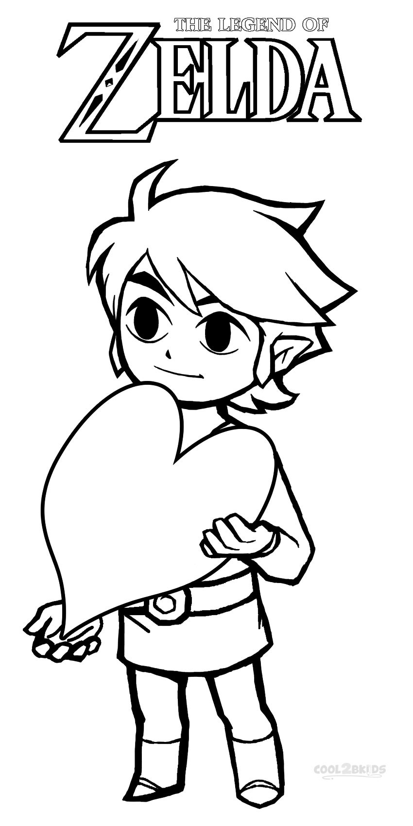 coloring pages zelda - photo#14