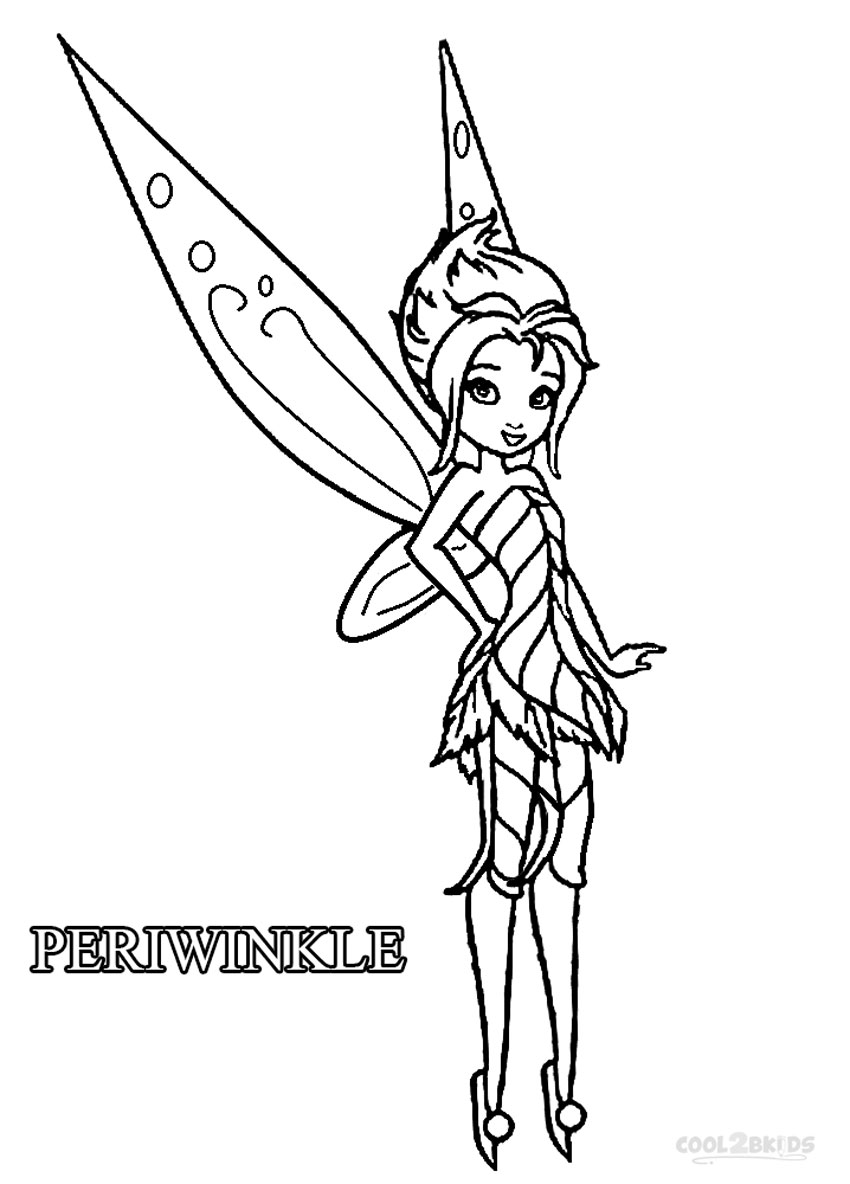 Disney fairs coloring pages ~ Printable Disney Fairies Coloring Pages For Kids | Cool2bKids