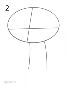 How to Draw Stewie Step 2