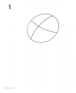 How to Draw Winnie the Pooh Step 1