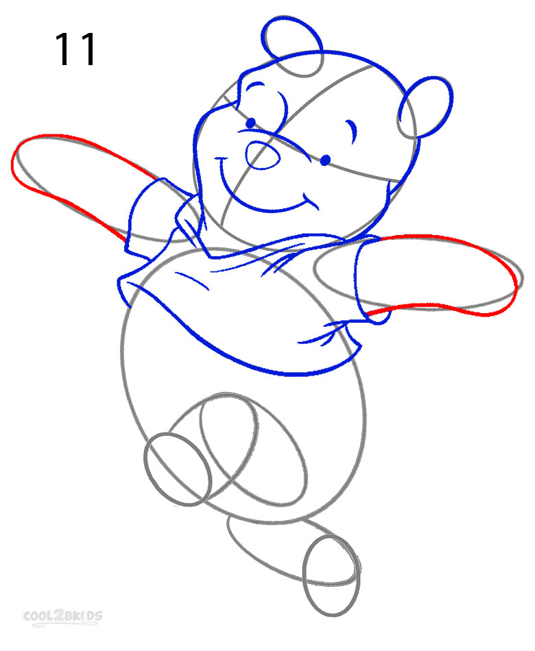 How To Draw Winnie The Pooh Characters Step By Step How to Draw Winnie the Pooh Step by Step Pictures